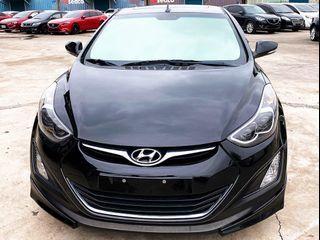👉FB收尋:阿魁嚴選中古車👈2016 Hyundai Elantra EX❗0頭期❗0元牽車❗高期數❗低月付❗客制改裝❗輕鬆把🚗牽回家❤️