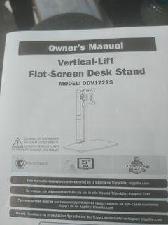 Flat screen sesk stand