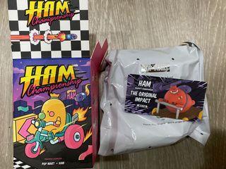 Ham淘氣錦標賽 盒玩盲盒 原始衝撞