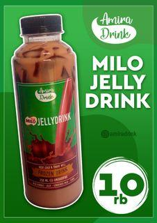 Milo jelly drink