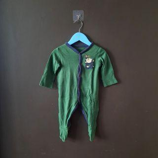Mothercare jumpsuit green army