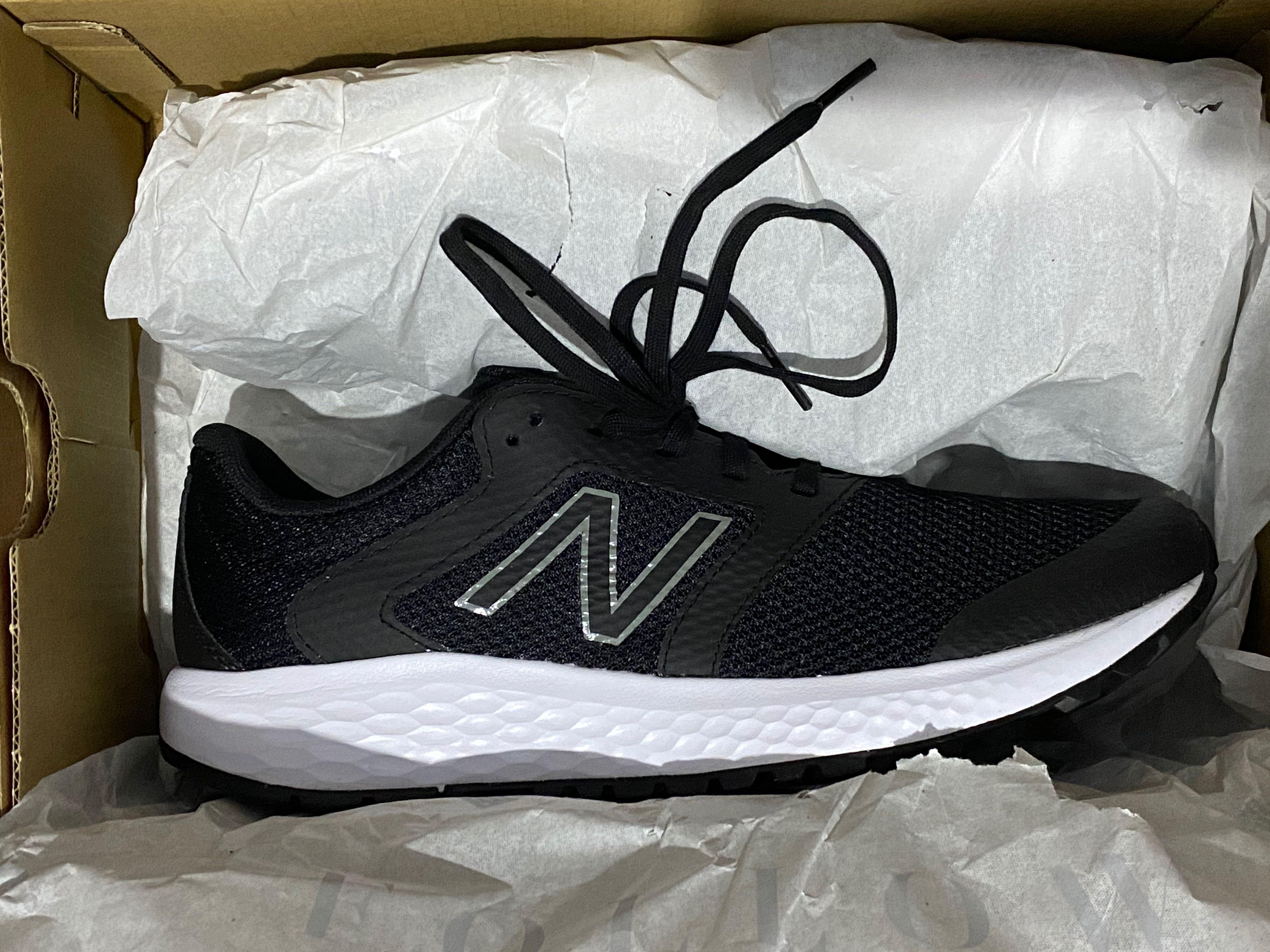 New Balance 420 V1 Men's Running Shoes - Black White