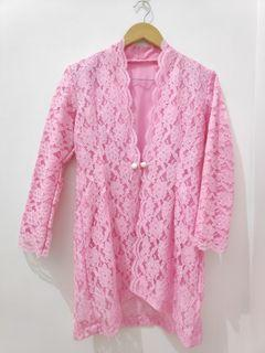 Outer pink brokat