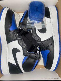 *PRICE REDUCED* Jordan 1 - Royal Toes
