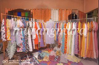 Puff Sleeves / Puff Maxi Dress
