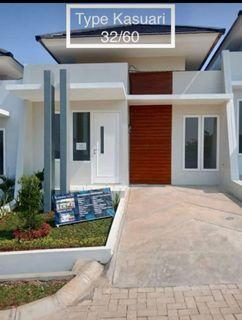 Rumah cantik minimalis bebas banjir diparung