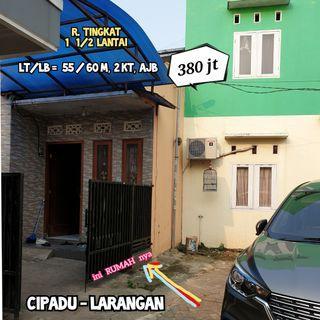 Rumah TINGKAT MURAH 380jt di CIPADU