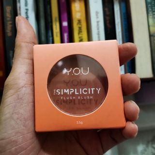 The Simplicity flush Blush