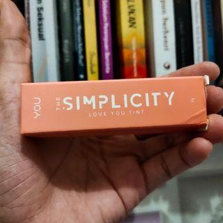 The Simplicity Love you Tint