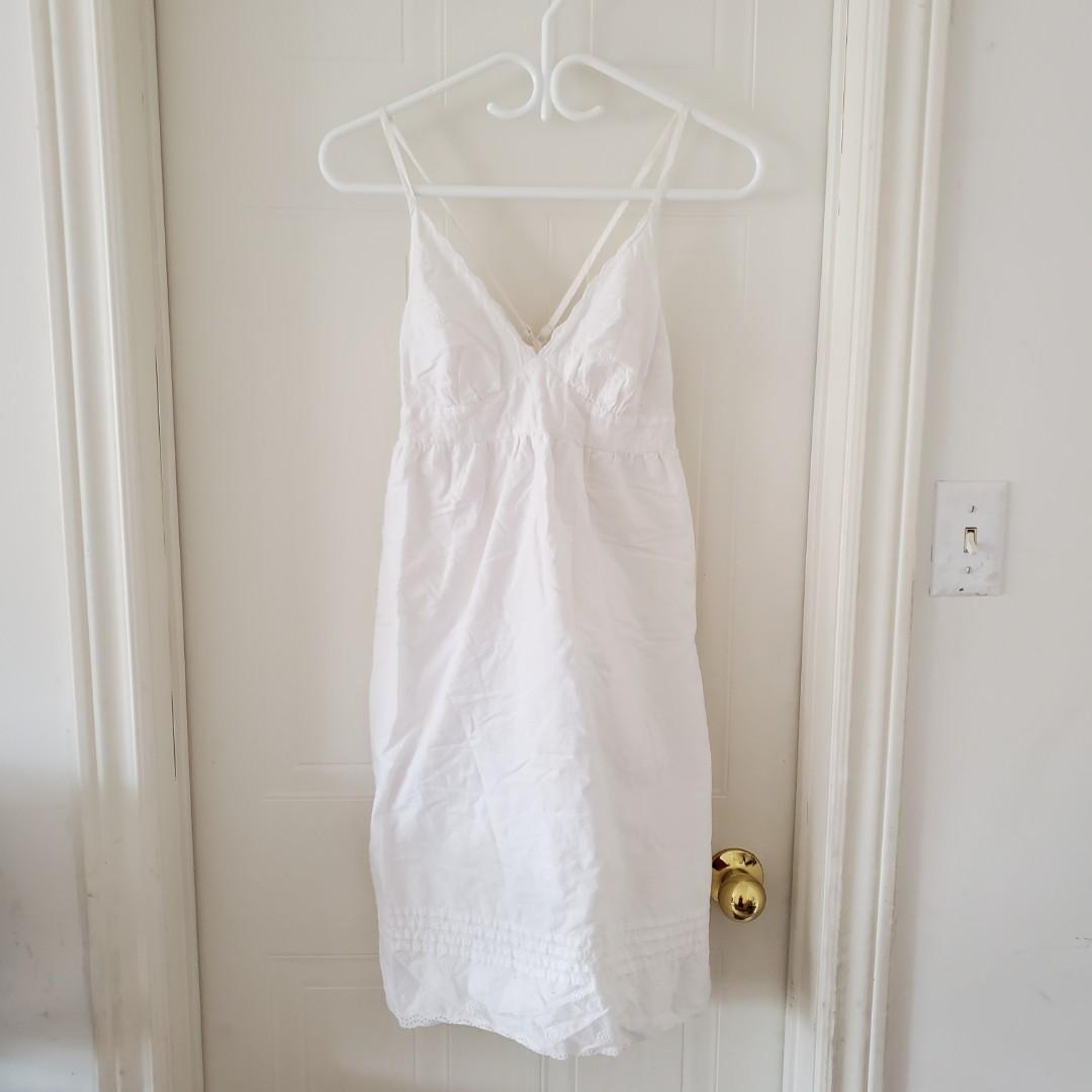 White Midi Summer Dress