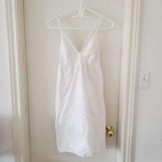 White Midi Summer Dress