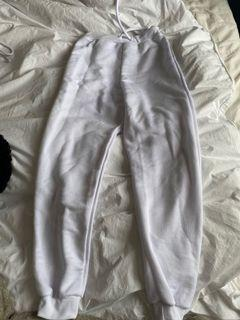 White Sweat Pants Pretty Little Thing