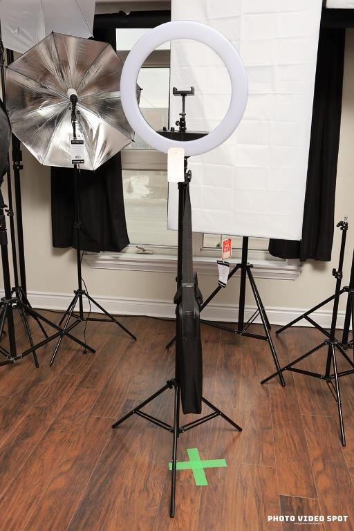 18 inch LED Diva Ring Light Kit ⦿ Receive Free Bluetooth Remote With Purchase!!