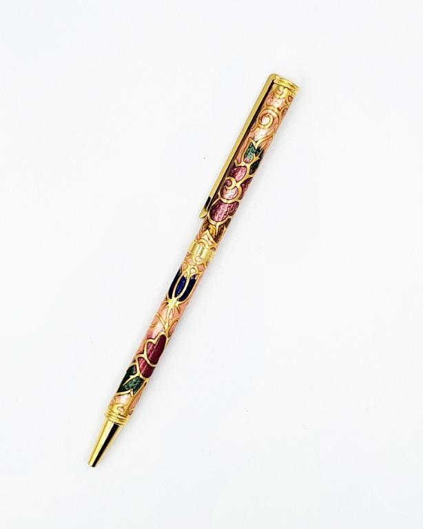 景泰藍原子筆(6色)