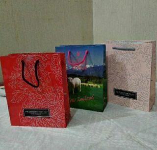 紙袋~禮品袋大出清~紅/粉紅牡丹~草原羊