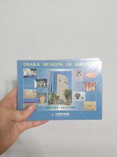 空運!大阪歷史博物館明信片(約十入)