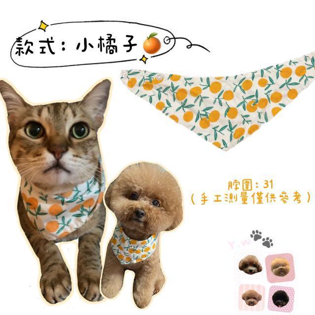寵物狗狗貓咪三角領巾口水巾🐶🐈