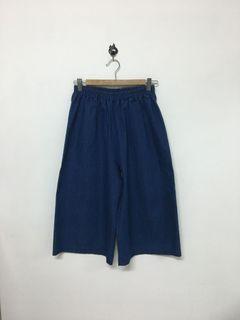 牛仔布寬褲 Pants