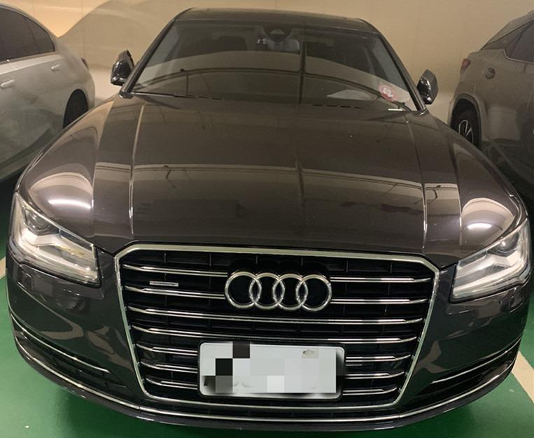 <小湄> 2014年 奧迪 AUDI A8 車況優質!無待修!! 超便宜~ 跑6萬