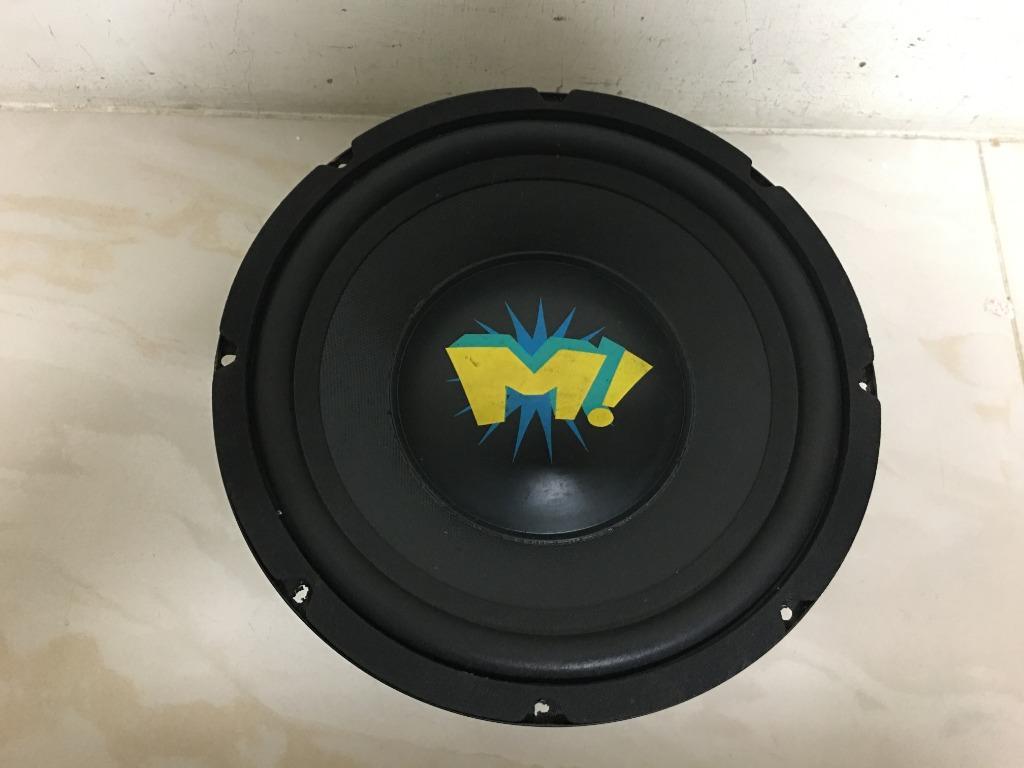 德國狗牌 MAGNAT 超低音 10吋超重低音喇叭 10吋汽車喇叭單體 300W