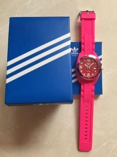 Adidas 桃紅色手錶⌚️