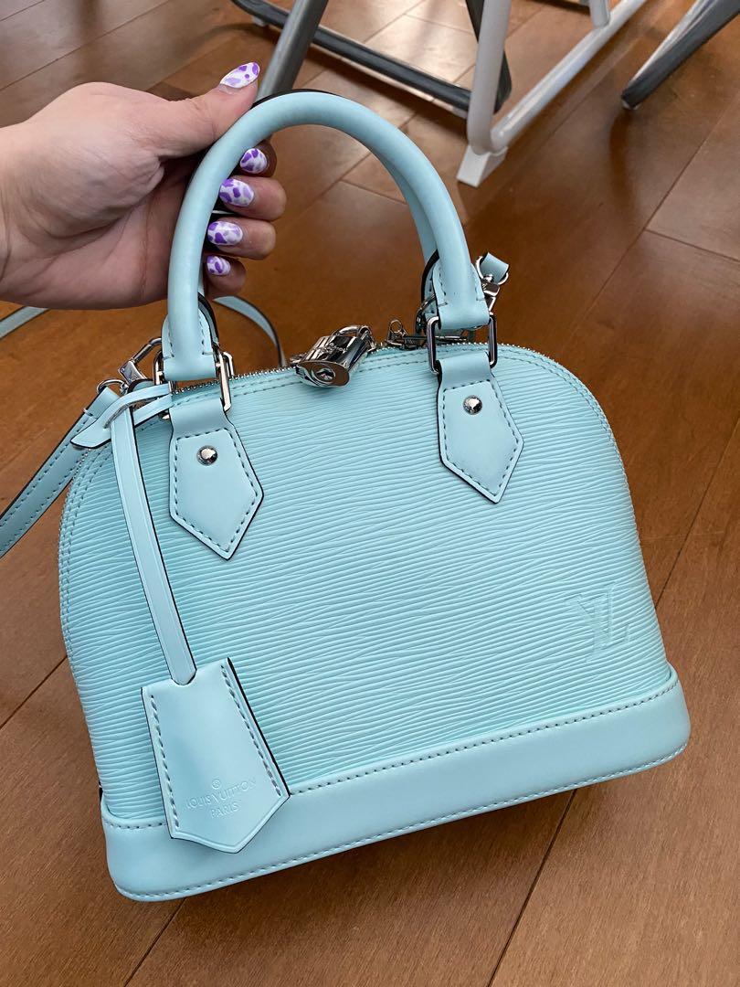 Alma BB epi leather bag