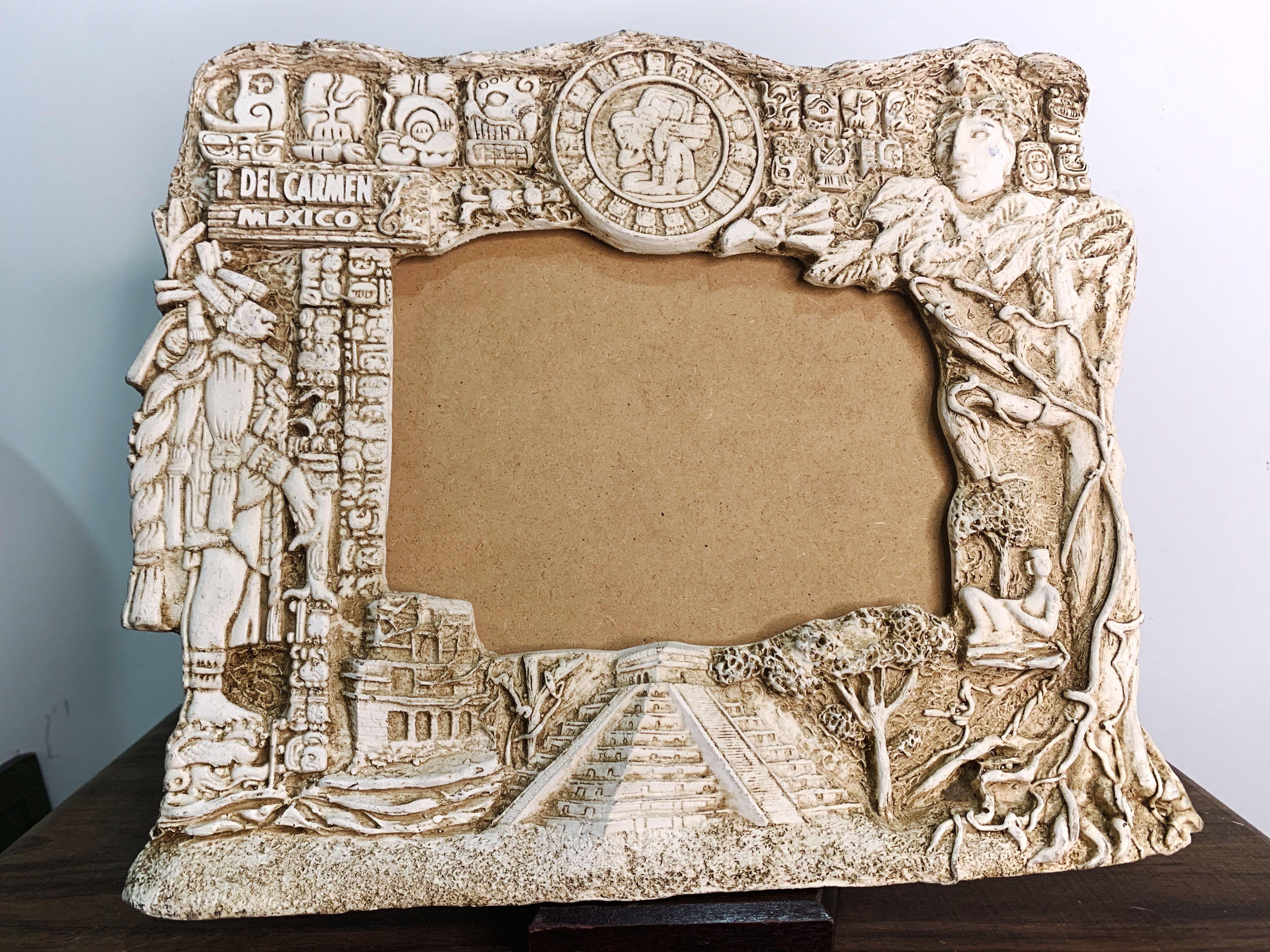 Antique Frame Ceramic 3D Mexico