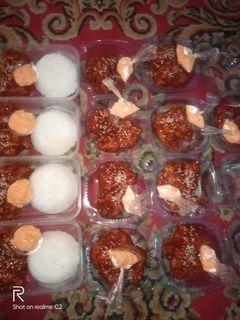 Ayam ala rhecese plus saus keju