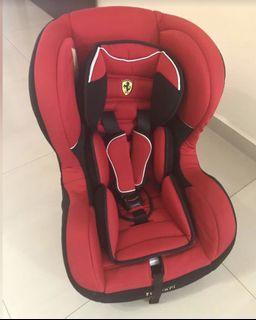 Baby car seat ferrari