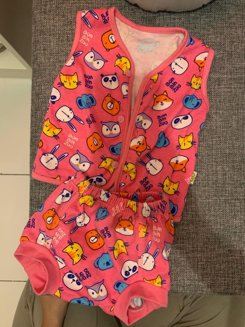 Baju bayi 0-3 bulan (girl)