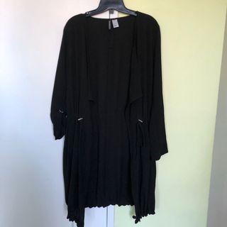 Black Midi Cardigan (size 10/L)