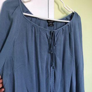 Blue Blouse (L)