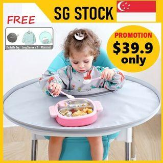 BLW placemat tray Food Baby Chair Cover Mat