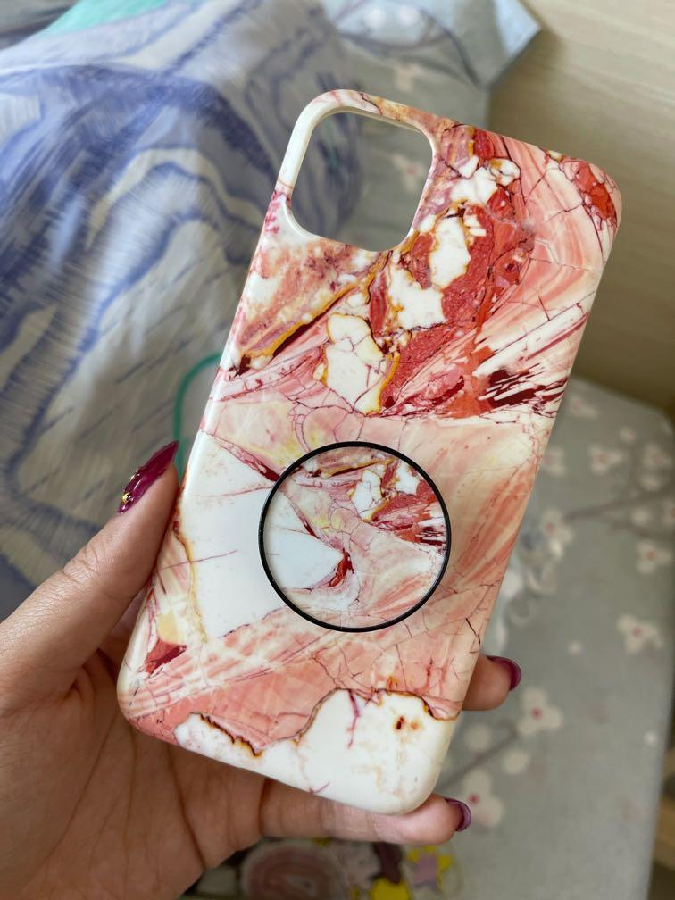 Casing iphone 11 pro max marble