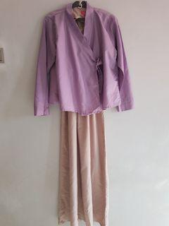Casual Hanbok Dress by Dresssofia