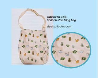 Cat Tutu Kueh Sling Bag