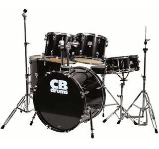 CB Percussion Drum Set w/ Chair + Sticks