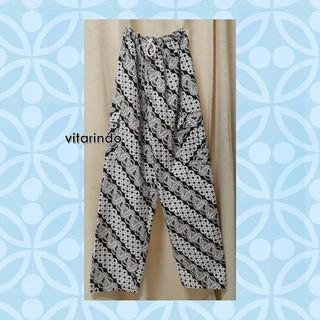 Celana Boim Pria Wanita Katun Batik All Size