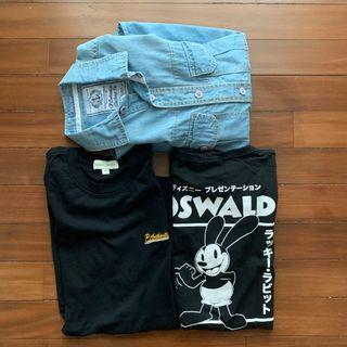 Long Sleeve + Shirt (Padini and Cotton On)