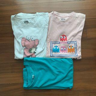 T-Shirts (Uniqlo x Kaws , Pac-man)