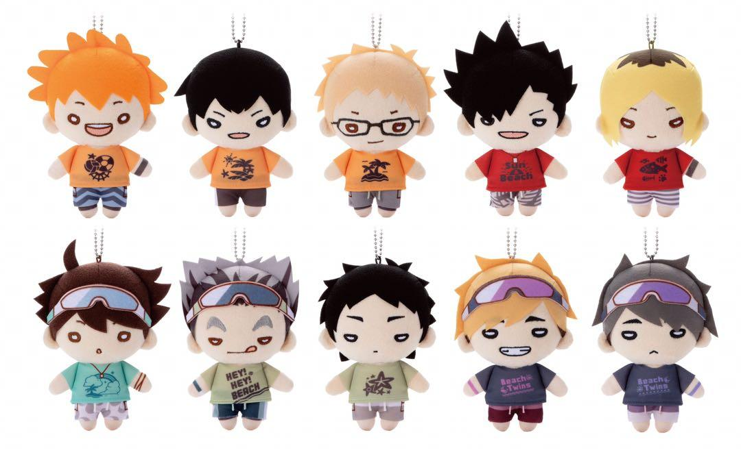 Haikyuu Nitotan Plush Beach Ver