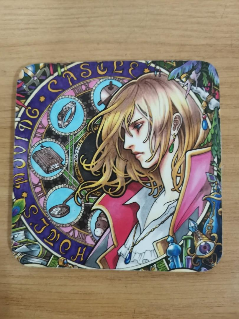 Howl's moving castle coaster