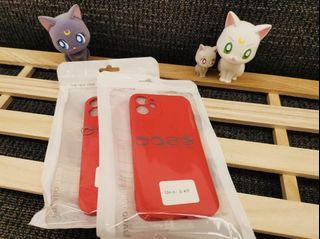 iPhone 12mini霧面果色系列手機軟殼 (櫻桃紅🍒)