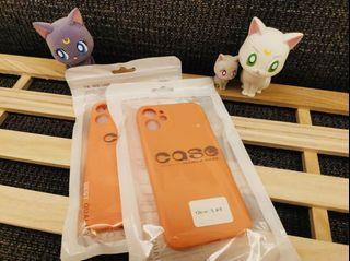 iPhone 12mini霧面果色系列手機軟殼 (鮮果橘🍊)