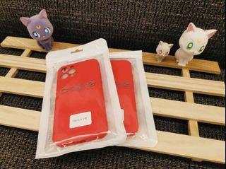 iPhone 12pro霧面果色系列手機軟殼 (櫻桃紅🍒)