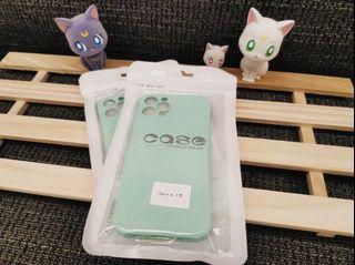 iPhone 12pro霧面果色系列手機軟殼 (蒂芬妮綠💍)