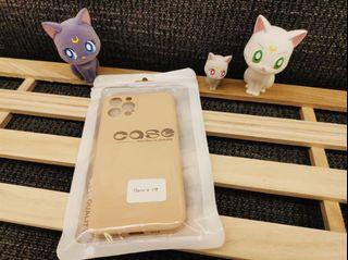 iPhone 12pro霧面果色系列手機軟殼 (寶寶粉🐷)