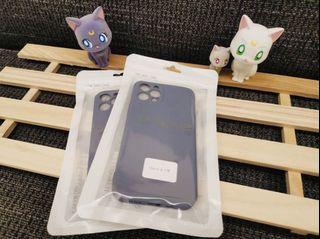 iPhone 12pro霧面果色系列手機軟殼 (大象灰🐘)