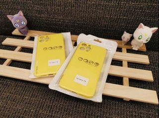 iPhone 12promax霧面果色系列手機軟殼 (黃檸檬🍋)