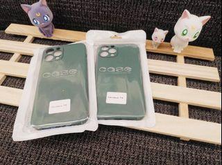 iPhone 12promax霧面果色系列手機軟殼 (橄欖綠)